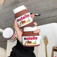 Nutella Hazelnut Spread Case for AirPods Gen 1, 2 or Pro Cartoon Case AU STOCK