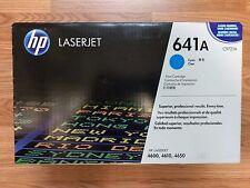 Genuine Sealed HP 641A Toner C9721A CYAN Laserjet