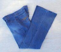 Danesi Women's Jeans SZ T/ 15 Medium Wash  Rhinestone Pocket Cotton Blend