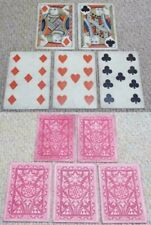 More details for full house poker hand 5 antique no indices 1865 playing cards