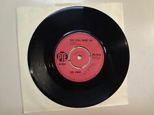 """KINKS: You Still Want Me-You Do Something To Me-U.K. 7"""" 64 Pye Records 7N.15636"""
