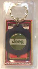 Car Dealership Logo Keychain ~ JEEP ~ Ancien Porte-Cle Flambant Neuf ~ USA ~ NOS