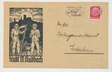 D.Reich illustrierter Brief STADT M.GLADBACH 1937 (57405)