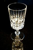 Beautiful Heavy Cut Crystal Wine Glass