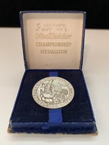 Silver Medal 'Smallholder Championship'  Original Box - J.Harford  Year 1957