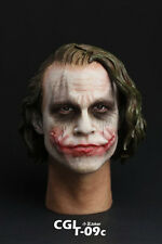 1/6 Scale CGL T-09C Heath Ledger Head Sculpt Batman Joker Headplay