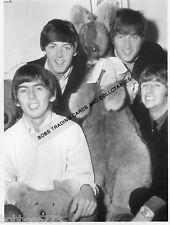 "THE BEATLES 1964 AUSTRALIAN TOUR-6""x8"" BLACK&WHITE PHOTOGRAPH"