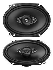 "Pioneer TS-A6880F 6""x8"" 350 Watts 4-Way Coaxial Car Speaker"