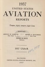 1937 United States Aviation Reports (1937) Aviation law, Federal, State, Cases