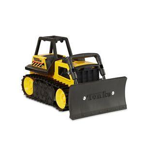 Tonka Steel Bulldozer Vehicle, Yellow Standard Packaging
