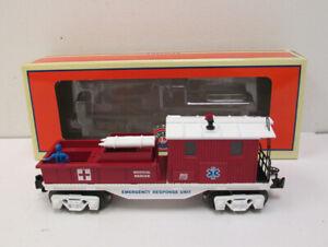 Lionel 6-36642 American Fire & Rescue First Aid Caboose NIB