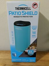 Thermacell MR-PSG Patio Shield Mosquito Repeller 15 Foot Protection GLACIAL BLUE