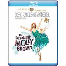 THE UNSINKABLE MOLLY BROWN -  Blu Ray - Sealed Region free for UK