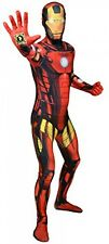 Ufficiale Iron Man Delux DIGITALE Morphsuit costume-Taglia media -