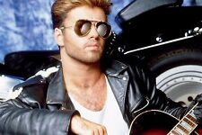 GEORGE MICHAEL with guitar   POSTER   24 x 36 INCH  