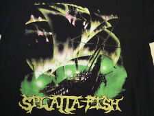 Splatta Fish heavy metal concert tour rare T Shirt L