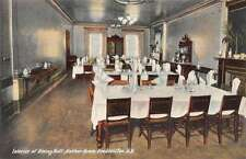 Fredericton New Brunswick Canada dining hall Barker House antique pc Z18063