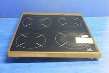 INDESIT KD3C11(X)/G Oven Cooker Ceramic Hob Top Glass Lid