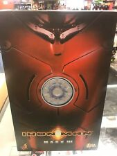HOT TOYS IRON MAN MARK III 2008 Factory Sealed Avengers