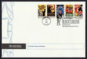 #4340a 42c Vintage Black Cinema, FDOI Ceremony Program **ANY 5=FREE SHIPPING**