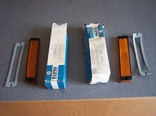 Mopar NOS pair Side Marker Lamp Lenses 70,71 Chry newpor, new yorker 3420862-863
