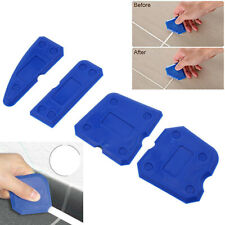 4pcs Caulking Joint Sealant Silicone Grout Remover Scraper Tools Kit for Corner
