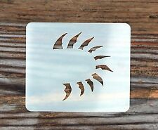 Tribal Eye Lashes Face Painting Stencil 7cm x 6cm 190micron Washable Reusable