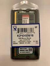 Kingston 16GB DDR4 Memory Module RAM (KCP424SD8/16)