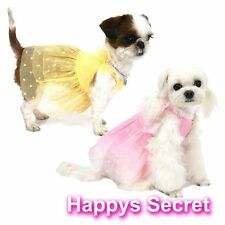 Female 100% Cotton Clothing & Shoes for Dogs