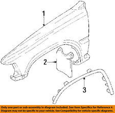 TOYOTA OEM 89-95 Pickup Fender-Mud Flap Splash Guard Left 7662235090