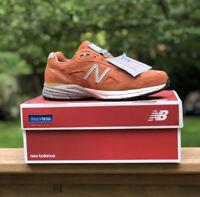 New Balance 990v4 Burnt Orange Jupiter Men's Size 11.5 Made In USA