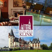 Müritz Romantik Wellness Schloss 4*Hotel Klink 2ÜF2P inkl. 4-Gang Dinner Seelage