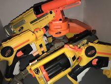 3 Gun Lot Nerf N-Strike Barrel Break IX-2 Double Shotgun Dart Blaster W/ Extras