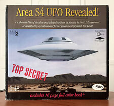 "Testors Area 51 S4 UFO Revealed Model Kit 1:48 Scale 1994 13"" Diameter"
