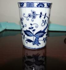 Vienna Woods Blue and White Blue Onion Drinking Glass