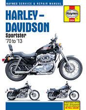 Harley Davidson Sportster 1970 to 2013 XL XLH Haynes Service Repair Manual 2534