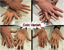 VANISHING COIN DEVICE DAVID BLAINE STREET MAGIC GIMMICK VANISH MONEY TRICK 1p 2p