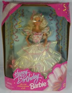 1995 Birthday Barbie Special Edition Complete in Worn Box Vintage See Pictures!