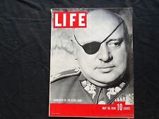 1938 MAY 30 LIFE MAGAZINE - CZECH GENERAL JAN SIRVOY - L 80