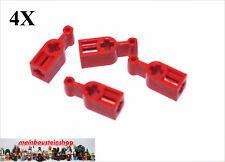 4X Lego® 6539 Technik Getriebe Kupplungs-Stellhebel Rot Red NEU