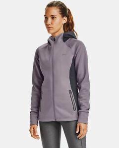 NWT$120 Under Armour Storm Women's UA Swacket Fleece jacket 1344445 Size L