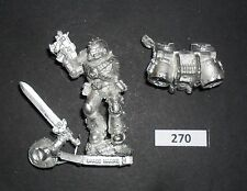 Warhammer 40K Metal SPACE MARINE VANGUARD VETERAN W/ JUMP PACK W 270