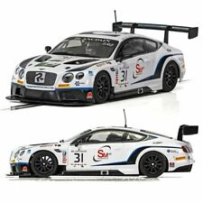 SCALEXTRIC Slot Car C4024 Bentley Continental GT3 - Team Parker Racing