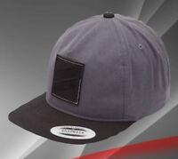 New Hurley Men's Icon Slash 2.0 Gray Snapback Hat Cap