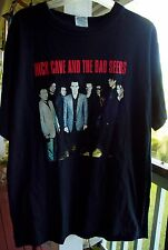 NICK CAVE AND THE BAD SEEDS Australian Tour March 2002 VINTAGE T SHIRT Large