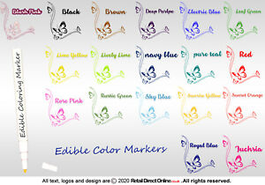 Edible Writing Marker Icing Pen Food Colour Cake Decorating Craft