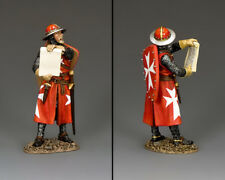 KING & COUNTRY MEDIEVAL KNIGHTS & SARACENS MK176 THE PROCLAIMER MIB