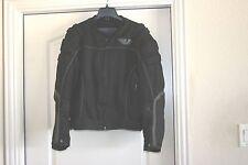 Buell Motorcycles Mesh Motorcycle Jacket Mens Size M MD Medium Black