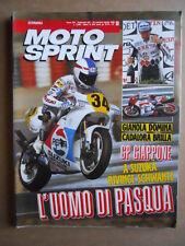 MOTOSPRINT n°13  1989       [Q19]  TEST GILERA 125 R15 YAMAHA TT 350