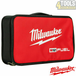 Milwaukee M12 Small Contractors Heavy Duty Carry Soft Fuel Tool Bag